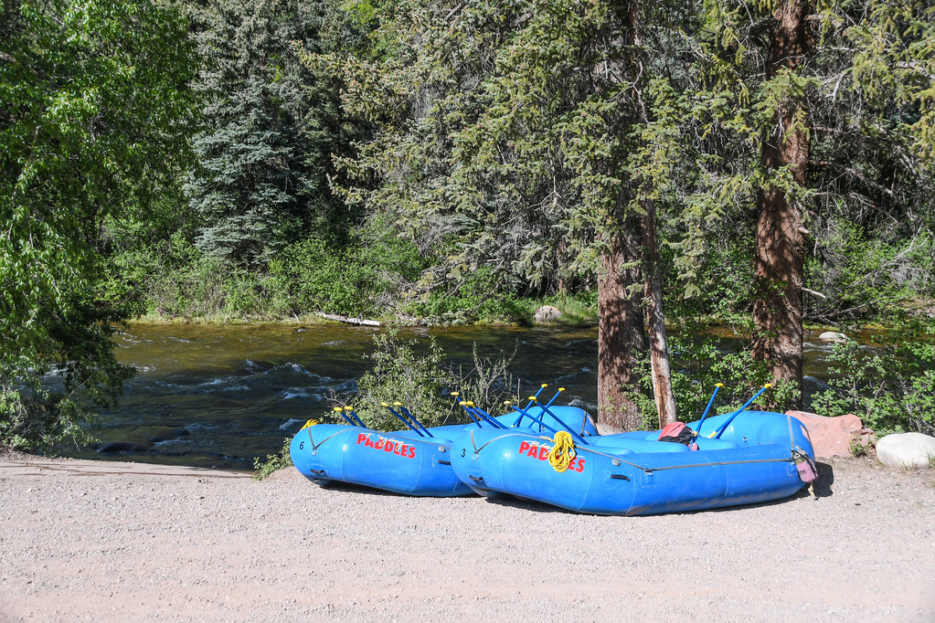 Aspen | Snowmass Group Adventures - Guided Rafting Trip - Rafts on the Ramp