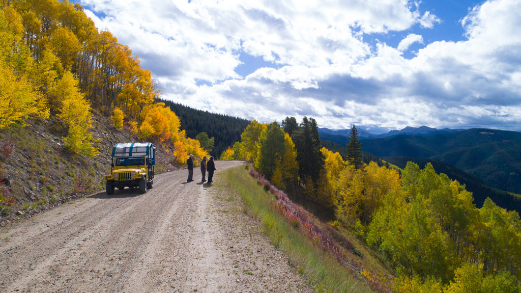 Backcountry Jeep Tours in Aspen Snowmass