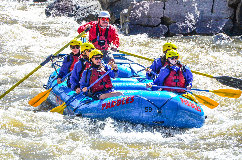 Aspen | Snowmass Group Adventures - Guided Rafting Trip - Felipe at Shoshone