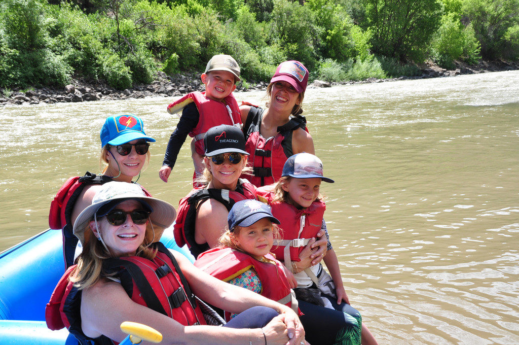Group Guided Whitewater Rafting Tour at Grizzly