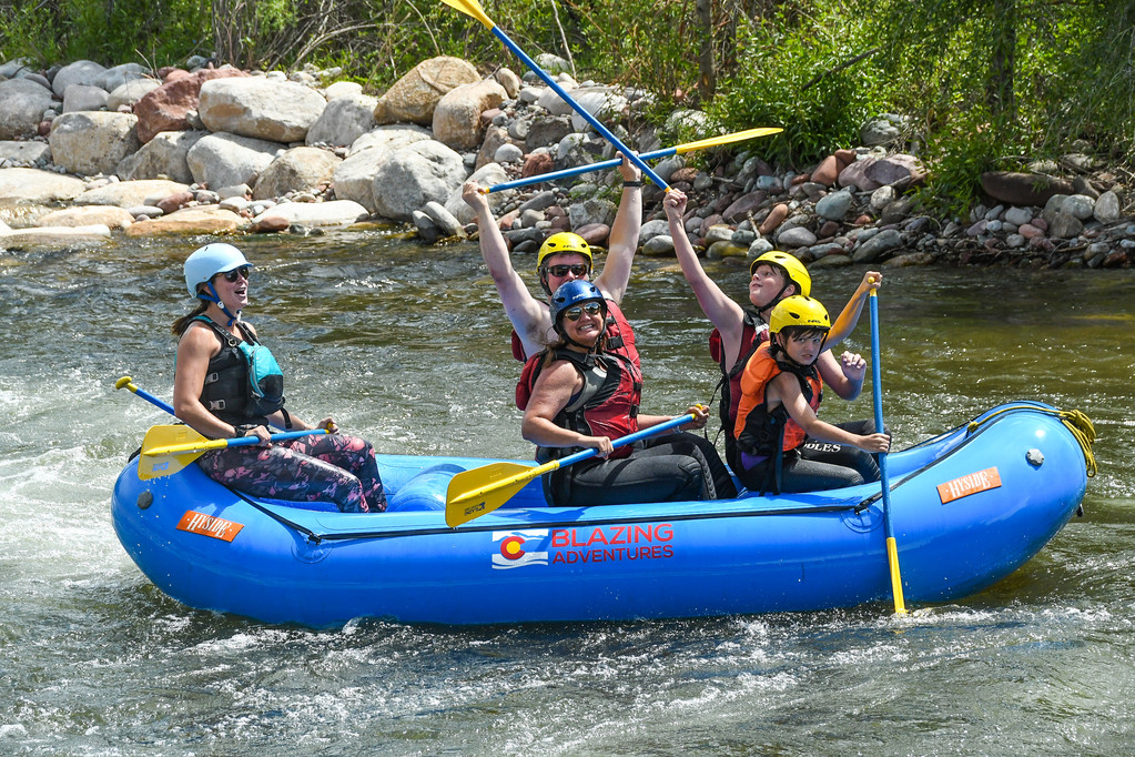 Aspen | Snowmass Group Adventures - Guided Rafting Trip - Kat and Family
