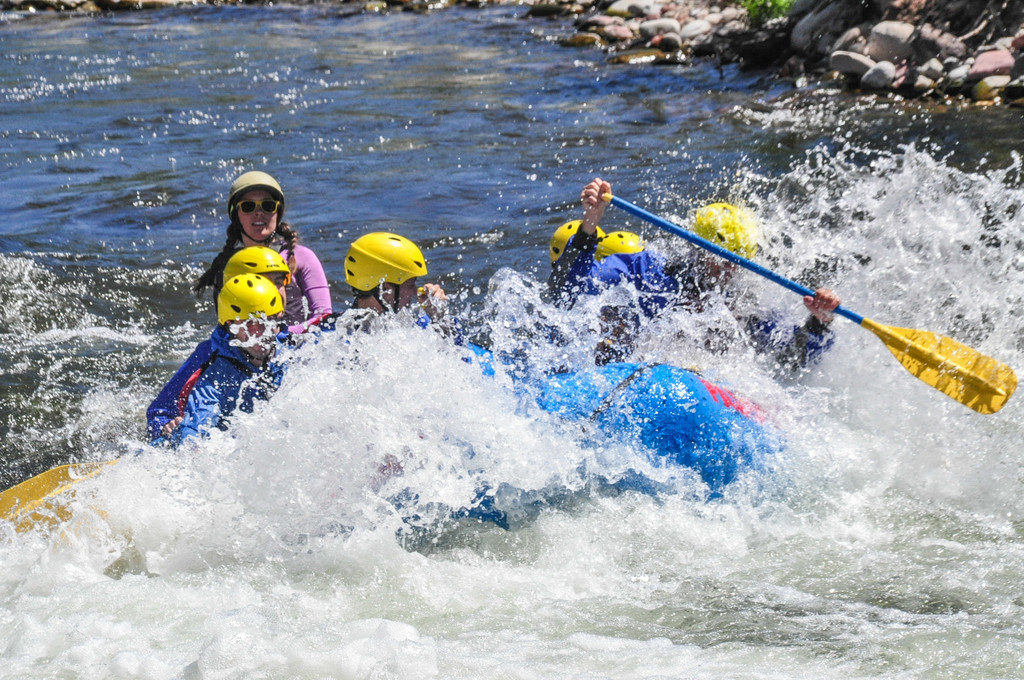 Aspen | Snowmass Group Adventures - Guided Rafting Trip - Kate and a Wave