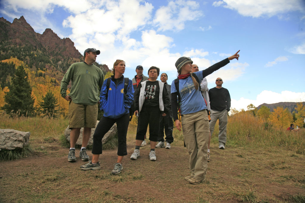 Aspen Snowmass Guided Hiking Adventures : Group Hike