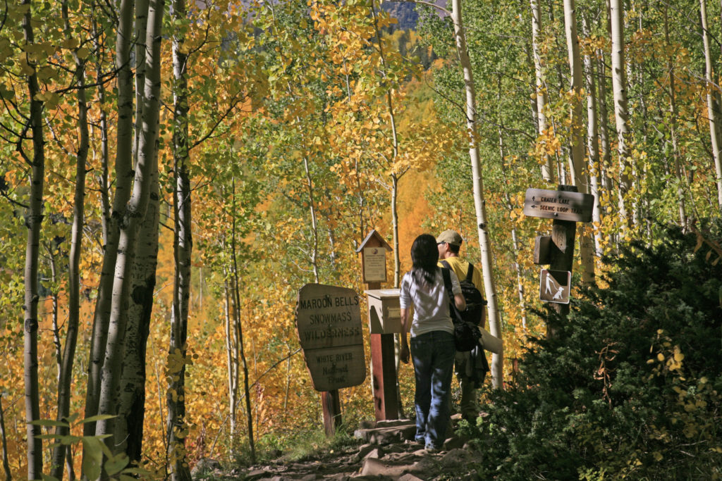 Aspen Snowmass Guided Hiking Adventures: Maroon Bells Trail Hikers
