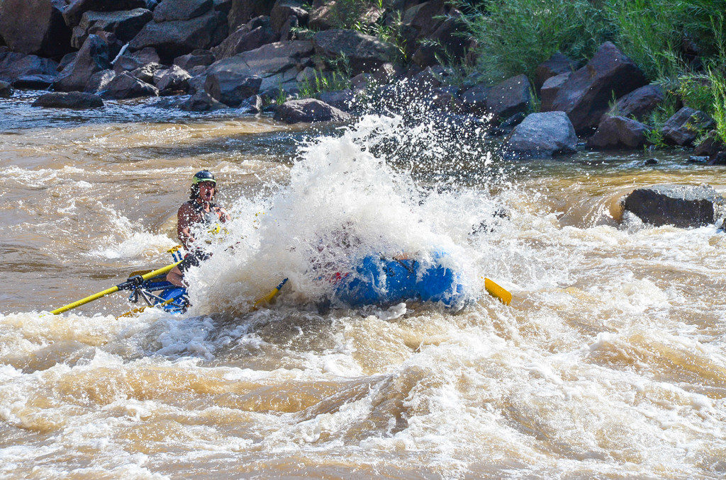 Aspen | Snowmass Group Adventures - Guided Rafting Trip - Mitch and a Big Wave